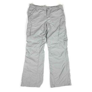 REi Girl's Convertible Pants Cargo Gray 18 XL